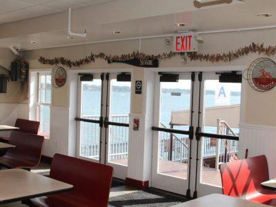 Tony's Pier Restaurant inside restaurant decoration