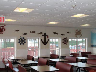 Tony's Pier Restaurant inside